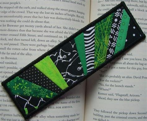 Quilted Bookmarks by Quilted Fabric Bookmark Quilting Knitting Crochet