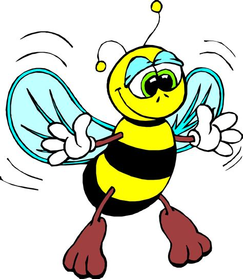 free clipart animated bee clipart