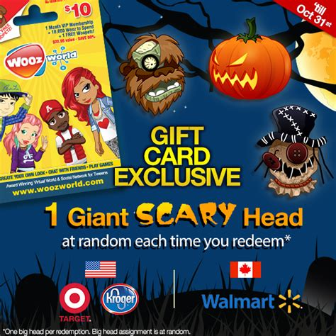 Woozworld Gift Cards - woozworld gift card spooky update woozworld news