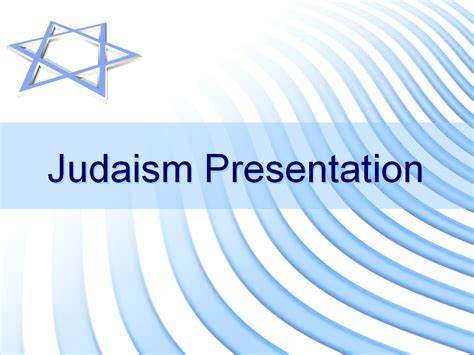 judaism presentation slide templates for powerpoint
