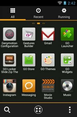 miui theme go launcher miui x4 android theme for go launcher androidlooks com