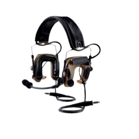 Headset Army peltor comtac iv hybrid dual communication headset peltor headset comtac iv hybrid
