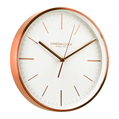 wall clock buy artemis copper wall clock online purely wall clocks