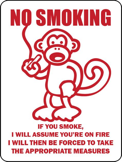 no smoking sign funny no smoking quotes like success