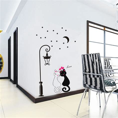 Wallpaper Wallsticker Tegel Tl 03 couples cats wallpaper lovdock