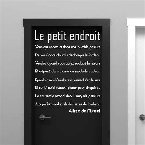 Couleur Du Salon by Couleur Du Salon Sejour 17 Sticker Citation Porte De