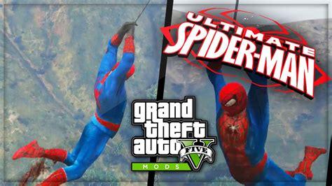 mod gta 5 spiderman gta 5 pc spiderman mods gta 5 spiderman pc mods gameplay