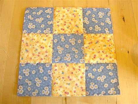 How To Do Patchwork Quilting - things to make and do patchwork and quilting nine patch