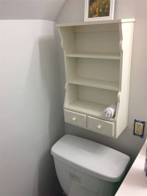 Bathroom Shelve Before And After Bathroom Shelf Burson