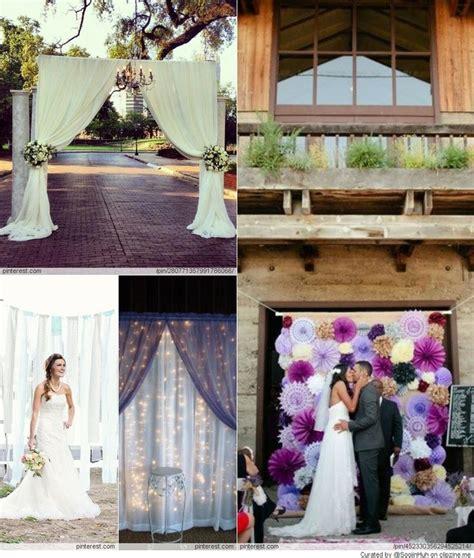 Wedding Backdrop Ideas Diy by Wedding Backdrop Diy Ideas Weddings The D Day