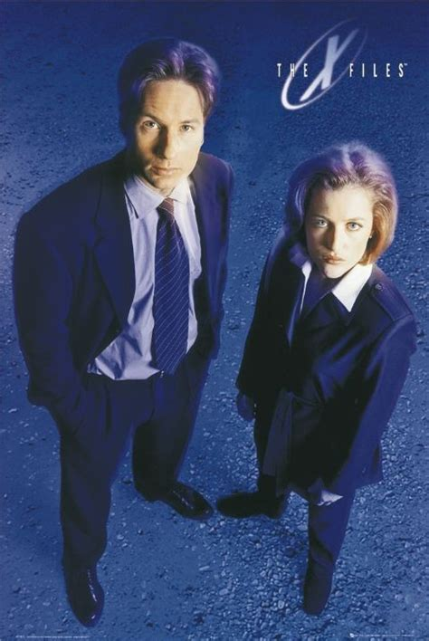 Xfiles Plakat by X Files Moulder And Scully P 243 Ster L 225 Mina Compra En