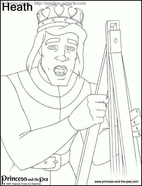 coloring pages princess and the pea princess and the pea coloring pages