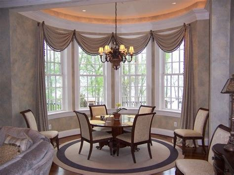bow window treatments pictures bow window treatments home decor