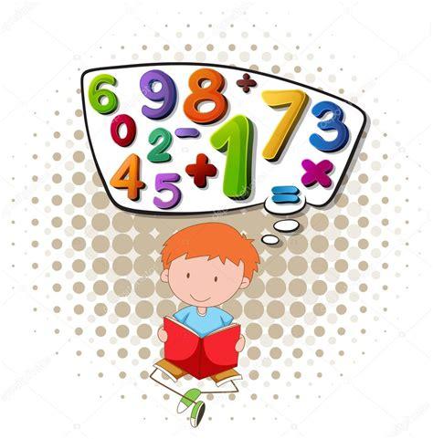 imagenes capciosas matematicas ni 241 o leyendo libro de matem 225 ticas archivo im 225 genes