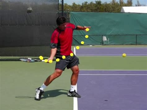 golf swing like tennis forehand section 01 the forehand forward swing explained ftp