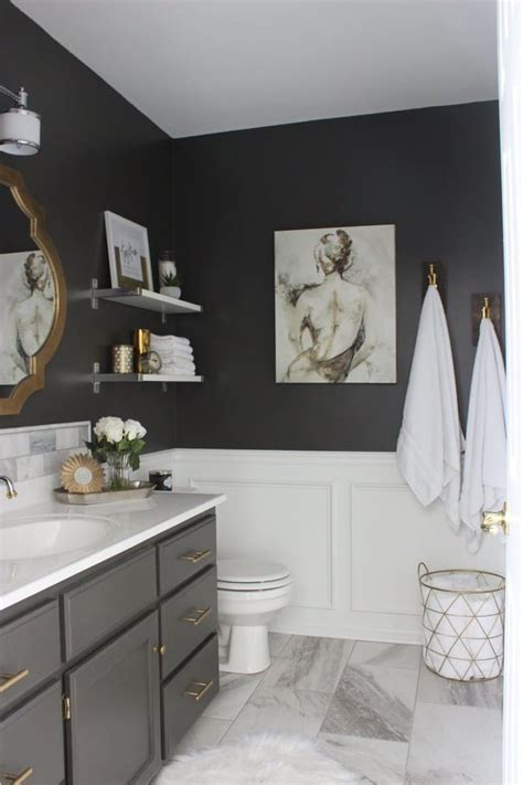 bathroom redecorating 25 best ideas about dark gray bathroom on pinterest