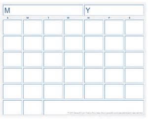 Blank Printable Calendar Template blank calendar template free printable blank calendars by vertex42
