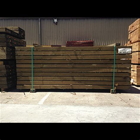 sleepers treated pine 200 x 50mm x 2 4mtrs fencing