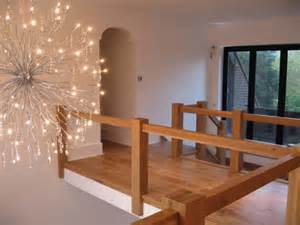 contemporary oak townsend staircase glass balustrade