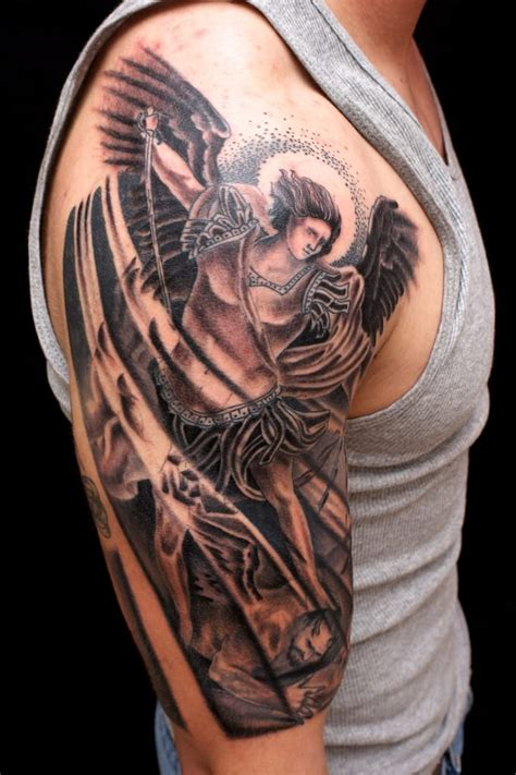 st michael the archangel tattoo elizabeth st riverside brian foster inkaholics