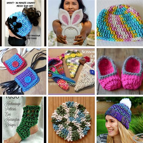 knit and crochet daily 30 minute crochet projects free crochet patterns page 3