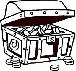 treasure chest coloring page free coloring pages of lunch