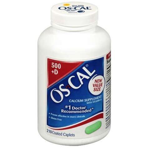 Os Cal os cal calcium 500mg with vitamin d3 200 iu caplets 210 ea by oscal