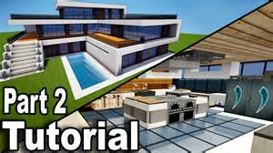 minecraft realistic modern house tutorial part 2