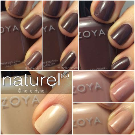 Lipstick Palette Zoya swatches review zoya naturel 3 the trendy nail