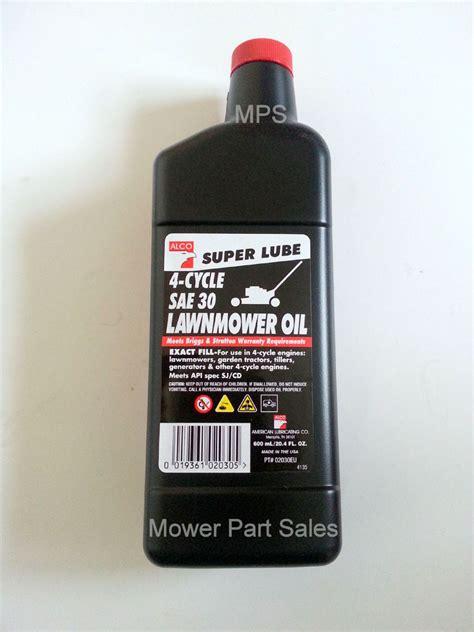 sae  motor oil lawn mower impre media