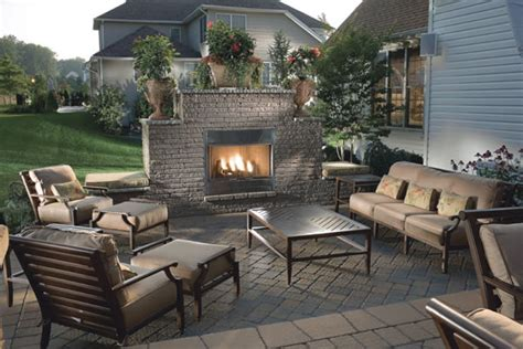 backyard patio designs with fireplace backyard patio ideas landscaping gardening ideas