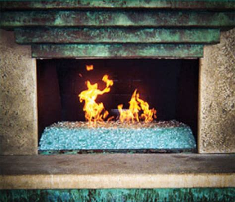 Glass Fireplace Rocks by 24 Glass Rocks For Fireplace Pixelmari