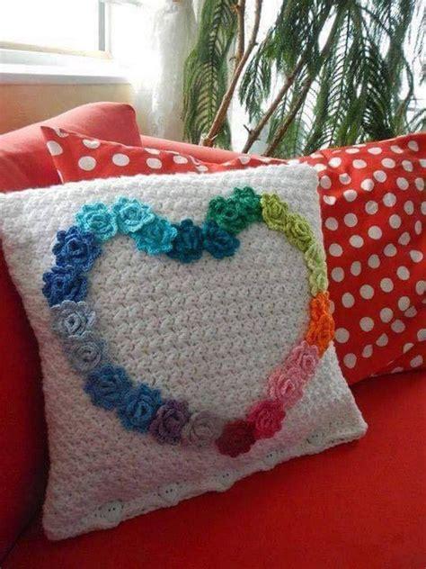 25 best ideas about crochet cushion pattern on