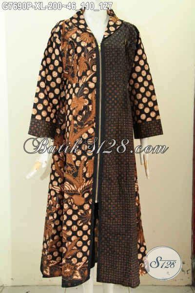 Gp223 Dress Gamis Motif Dress baju batik wanita muslim modern gamis dress batik