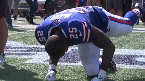 the national football locks how dreads have taken over mccoy other buffalo bills players take a knee team locks
