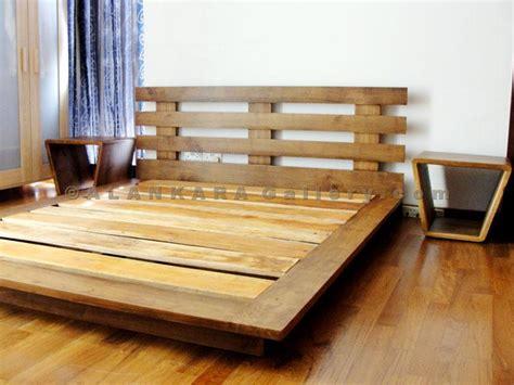 teak mahogany beds alankara gallery moratuwa