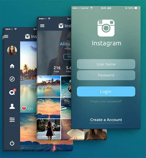 Design Your Instagram | instagram design concept puts your photos at the forefront