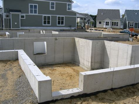 concrete basement walls fenton poured walls concrete contractors foundation contractors mi