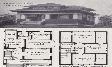 Vintage Craftsman House Plans by Vintage Craftsman Bungalow House Plans Vintage Craftsman