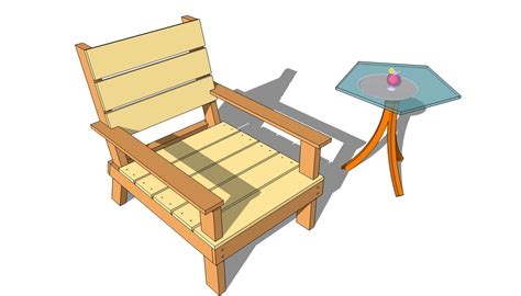 Wood Patio Chair Plans Outdoor Wood Patio Chair Plans Woodideas