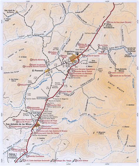 wine country california map bajarush your san felipe real estate partner