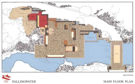 falling water floor plans google image result for http www fallingwater org assets