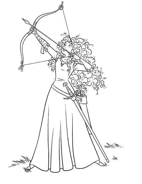 princess merida coloring page 11 images of brave coloring pages printable disney