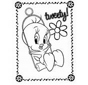 Free Printable Tweety Bird Coloring Pages For Kids
