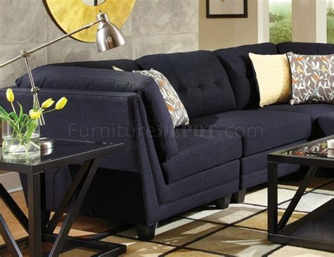 Keaton Sectional Sofa by Keaton Sectional Sofa 5pc 503451 By Coaster In Fabric