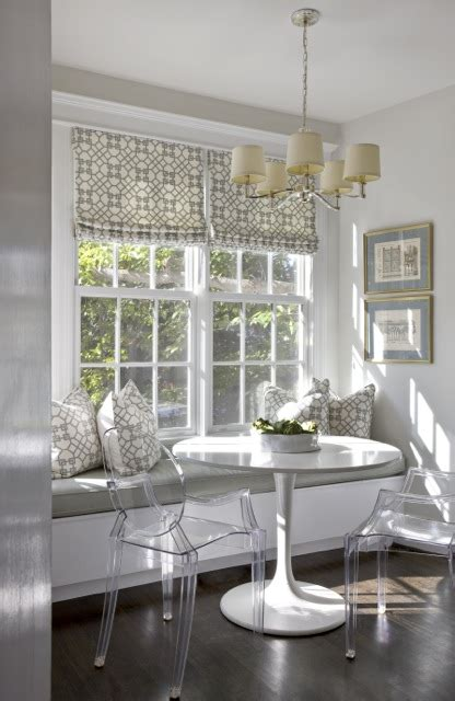 Breakfast Nook Ikea by Built In Banquette Contemporary Kitchen Sally