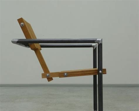 Steel Lounge Chair Design Ideas Philippe Krzyzek Bolts Wood Into Chairs