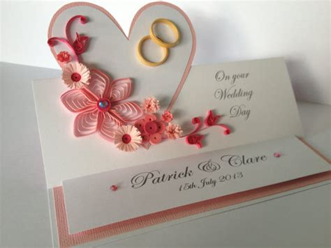Wedding Invitations Greeting Cards by Quilling Handmade Wedding Invitation And Greeting Card