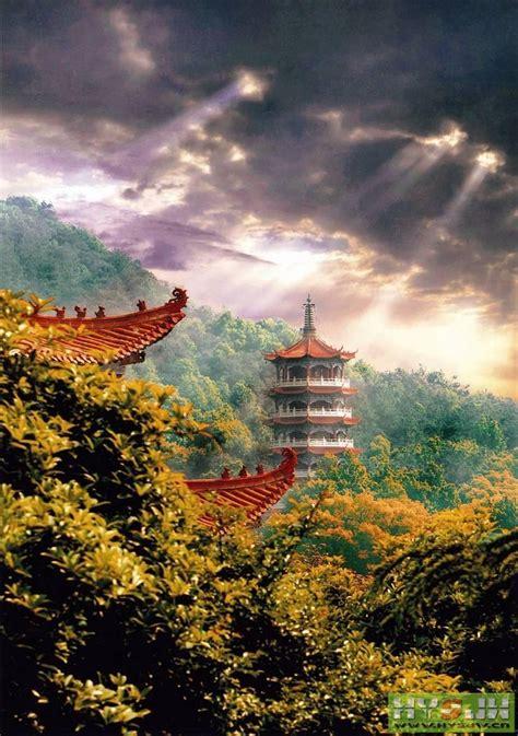 jiashan temple hunan china places  visit places