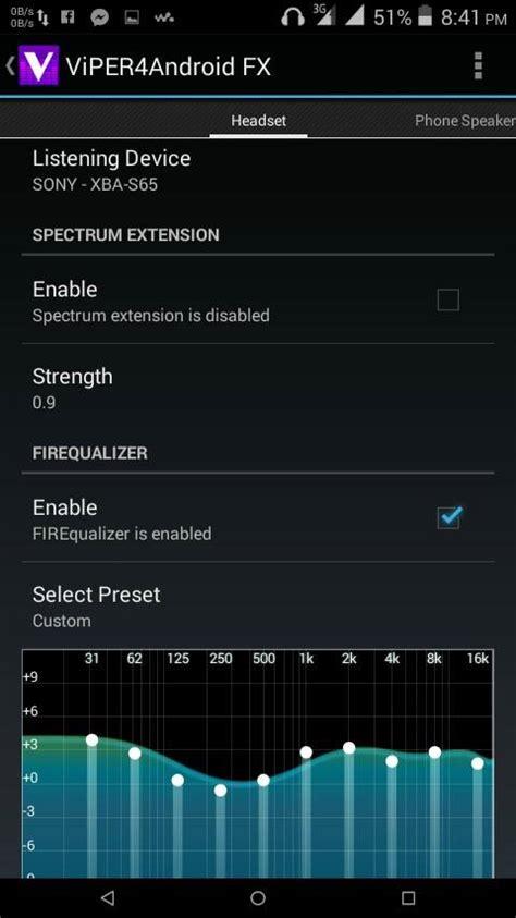 tutorial viper4android fx guida android migliorare notevolmente la qualit 224 audio
